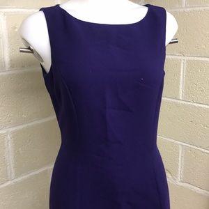 Tahari purple dress size 6
